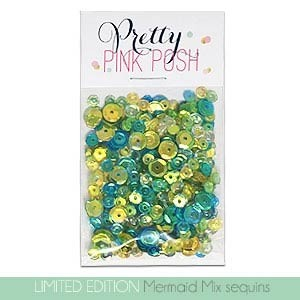 Limitied Edition! Pretty Pink Posh Mermaid Sequin Mix