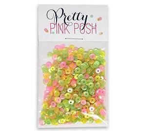 Pretty Pink Posh Tutti Fruitti Mix Sequins