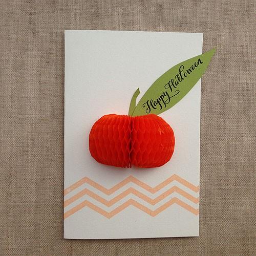Honeycomb Pumpkin
