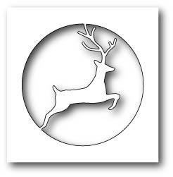 Reindeer Circle Die (99479)