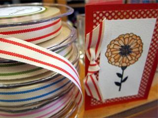 Organic Stripe Ribbon