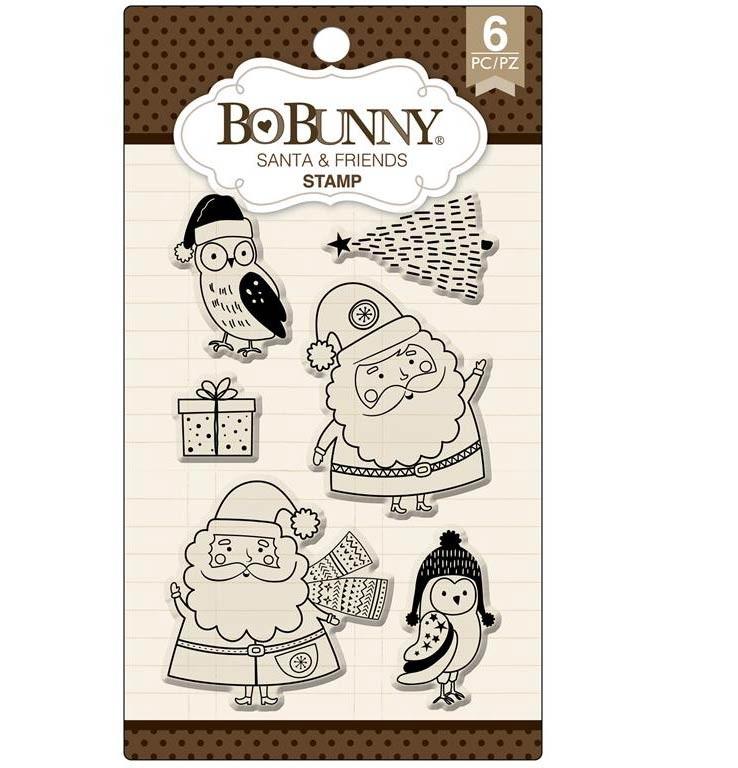 Santa & Friends Clear Stamp Set