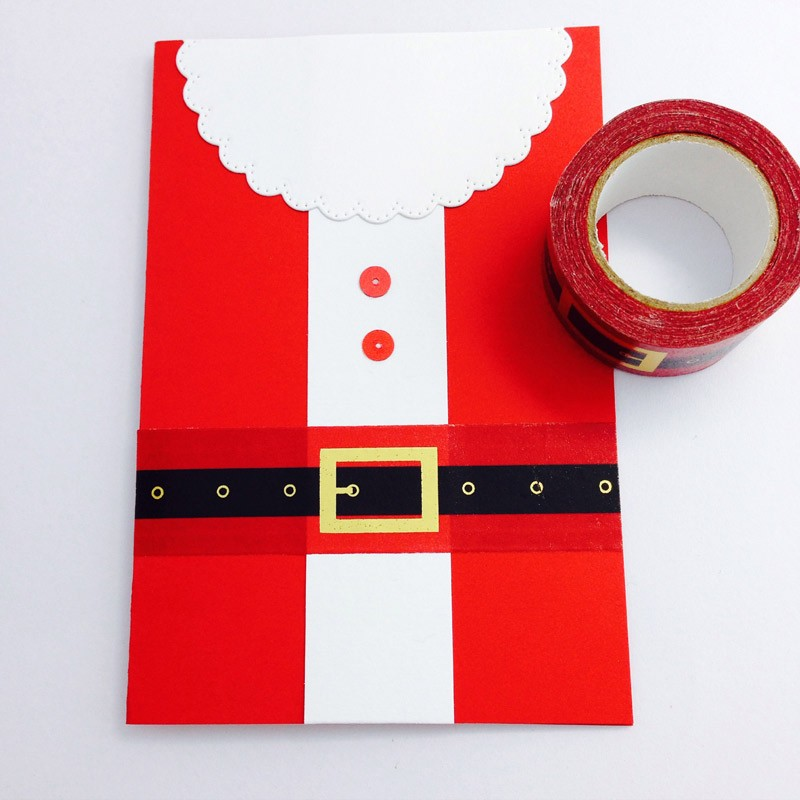 Santa Belt Washi Tape