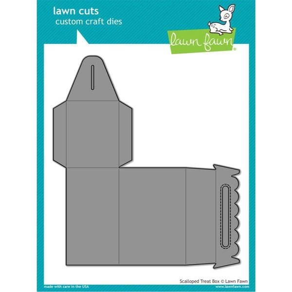 Lawn Fawn Scalloped Treat Box Die