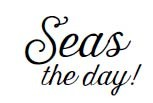 5583c - seas the day rubber stamp