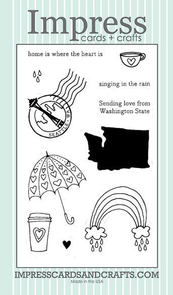 Impress Seattle Love Clear Set