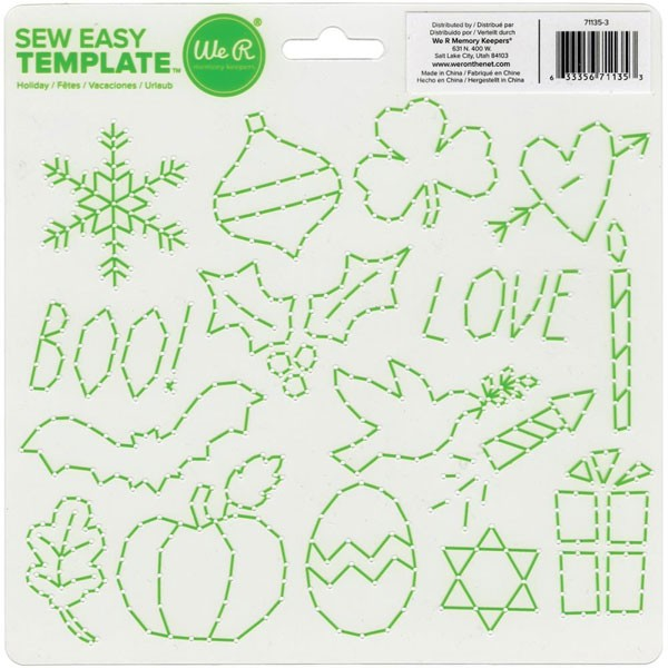 Sew Easy Template (8 x 8.25)