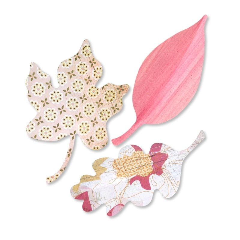Sizzix Leaves by Brenda Walton