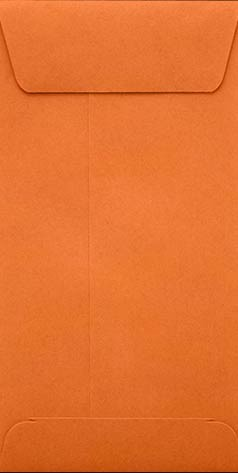 Orange Slim Envelopes