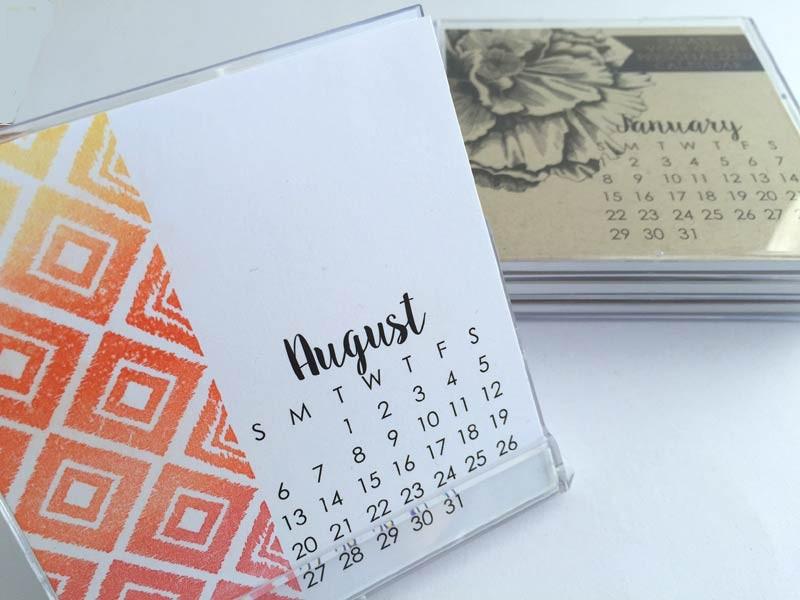 Small Impress 2017 Calendar