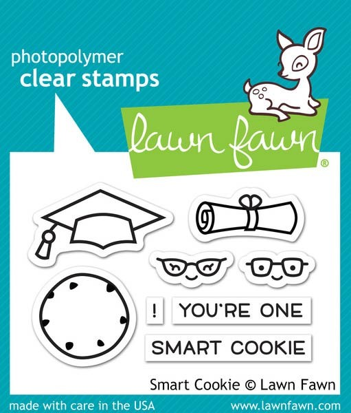 Lawn Fawn Smart Cookie Clear Stamp Set