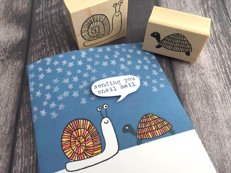 Savvy Sending You Snail Mail Stamp (1576c)