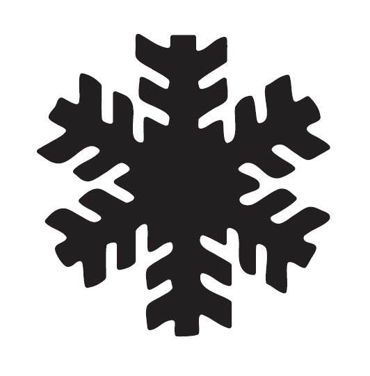 Impress Snowflake Window Die