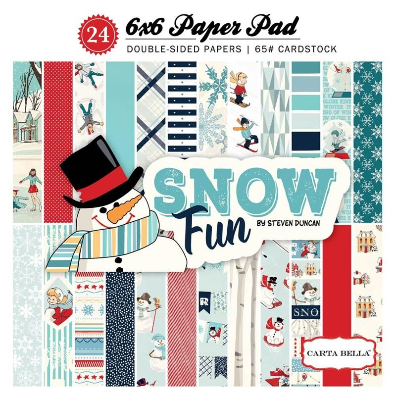 Carta Bella Snow Fun Paper Pad
