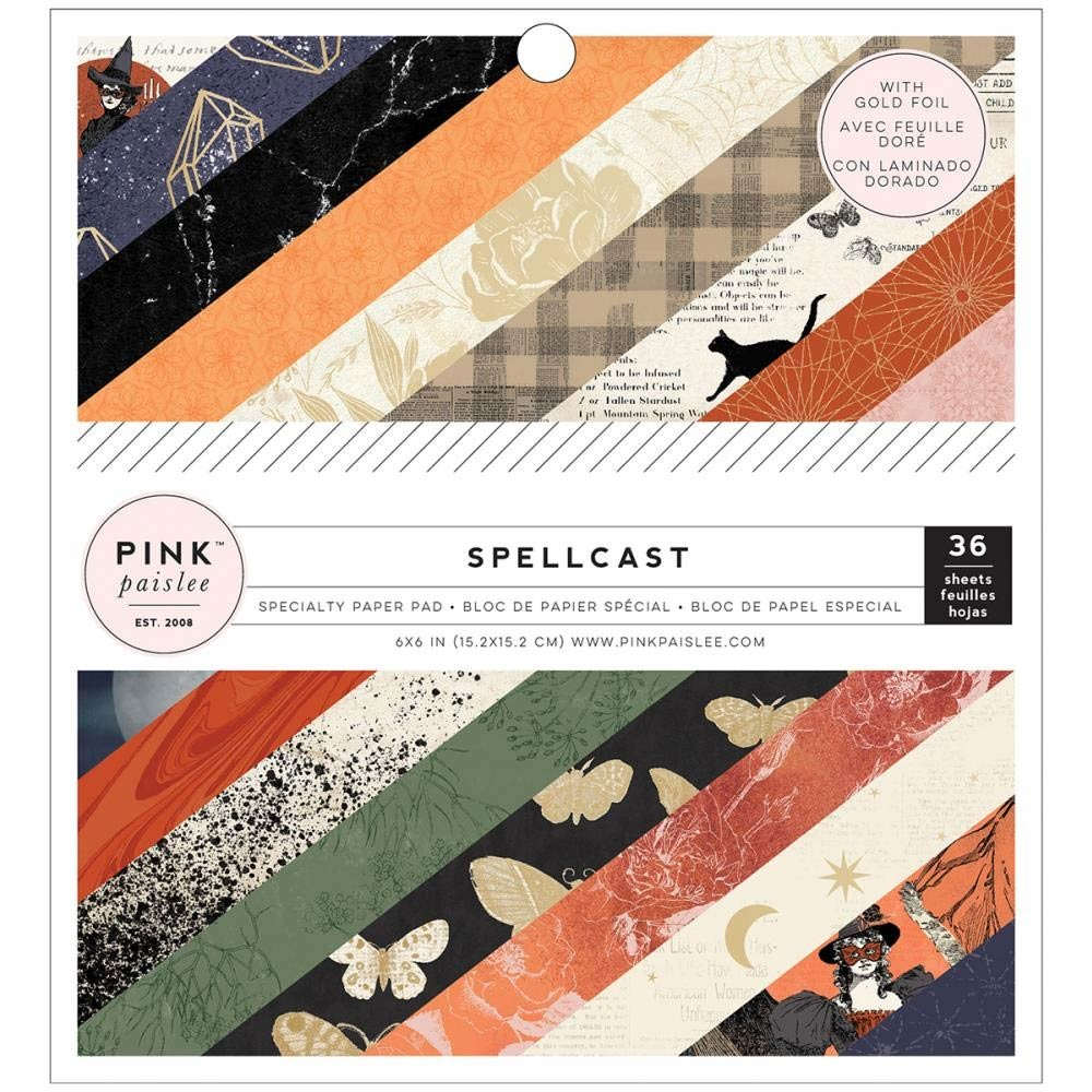 Pink Paislee Spellcast Paper Pack
