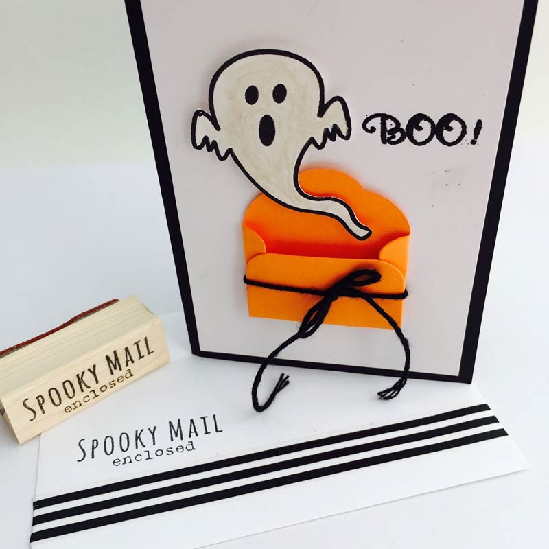 Spooky Mail Enclosed Stamp