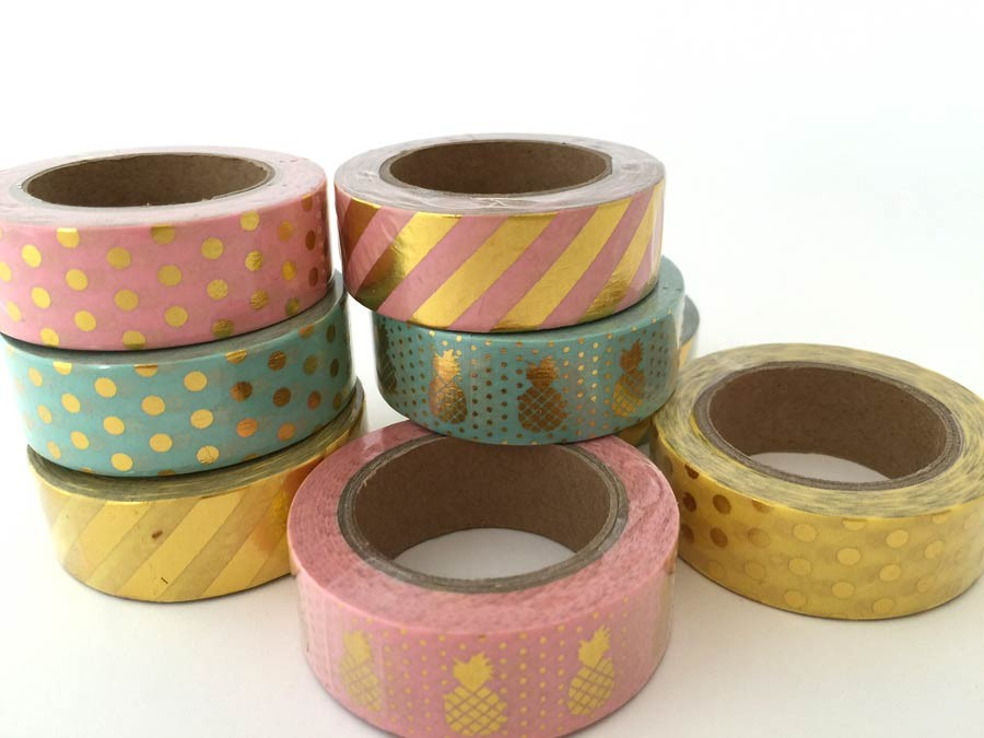 Trendy Foil Washi Tape