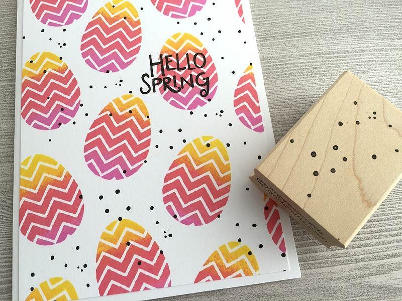 Splatter Dots Stamp