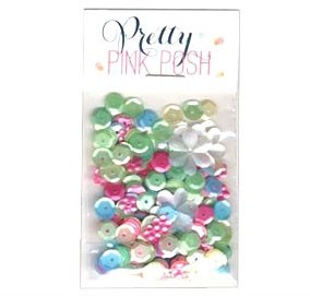 Pretty Pink Posh Springtime Sequin Mix