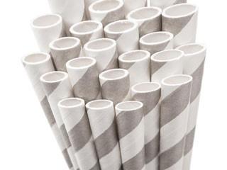 Paper Straws - gray