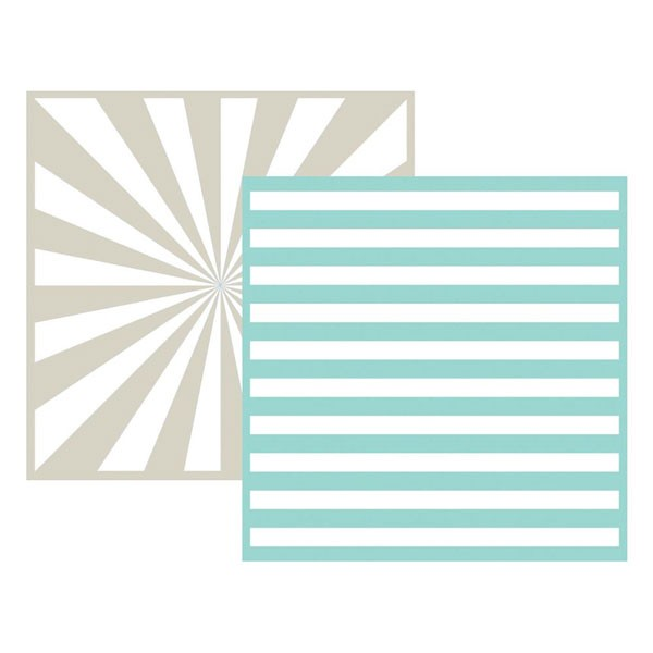 Stripe 6x6 Embossing Folder