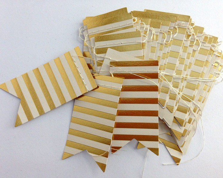 mini stripe banner