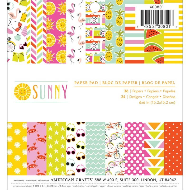 Sunny Paper Pack