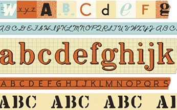 Alphabet Washi Tape