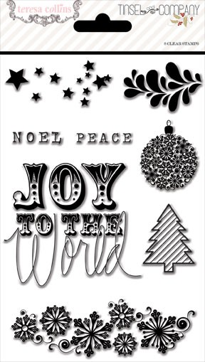Tinsel and Company Stamp Set