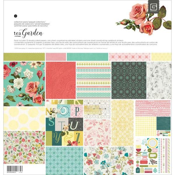 Tea Garden 6x6 Paper Pack