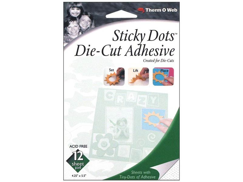 Thermoweb Sticky Dots - die-cut adhesive