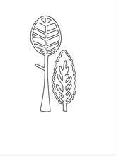 Flora & Fauna Tree Duo Die