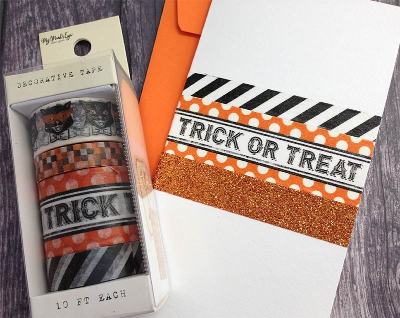 Something Wicked Decorative Tape