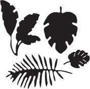 Tropical Leaves (10229)