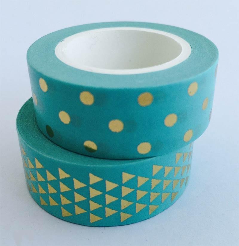 Turquoise Washi Tape