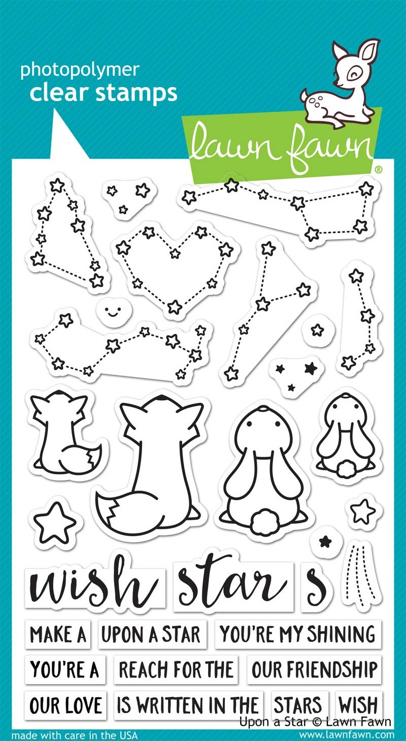 Lawn Fawn Upon a Star Clear Stamp Set