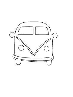 Flora & Fauna VW Van Die