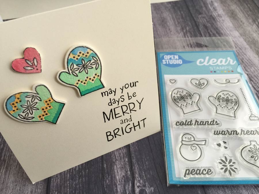 Warm Heart Clear Stamp Set CL5188