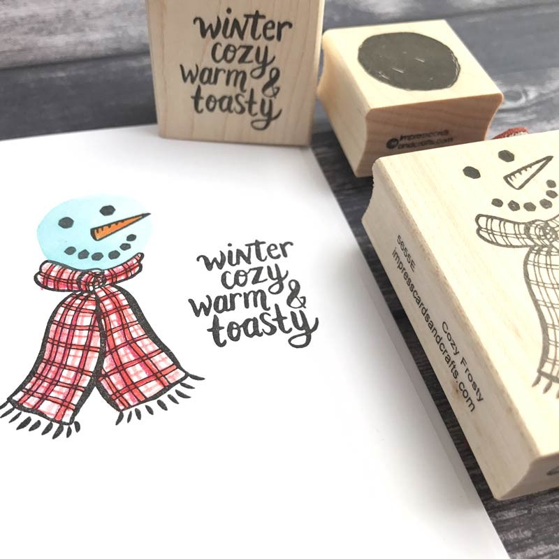 Warm and Cozy Stamp Set