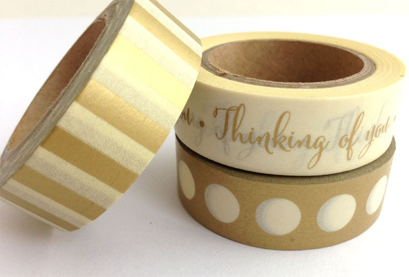 Thinking of you washi tapes