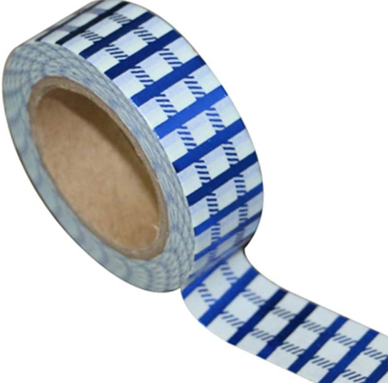 Blue Grid Washi Tape