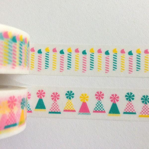 Birthday Washi Tape