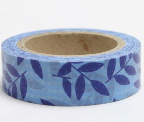 Blue Leaves tape