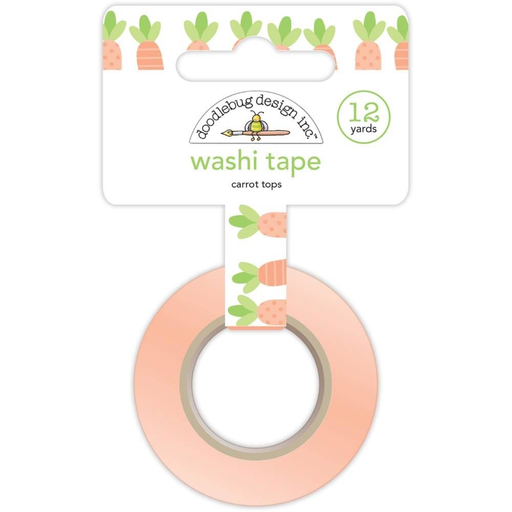 Carrot Washi Tape