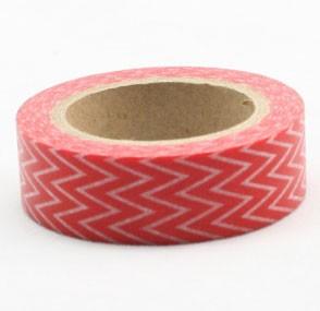 Melon Chevron Tape