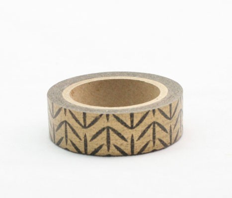Gold Patterned Washi Tape