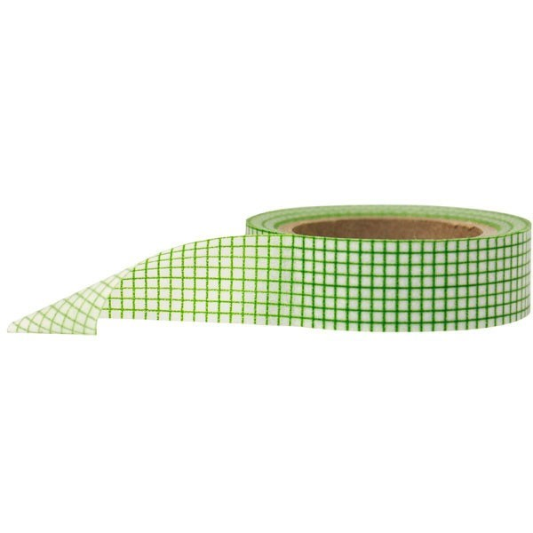 green grid washi tape
