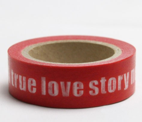 A true love story tape