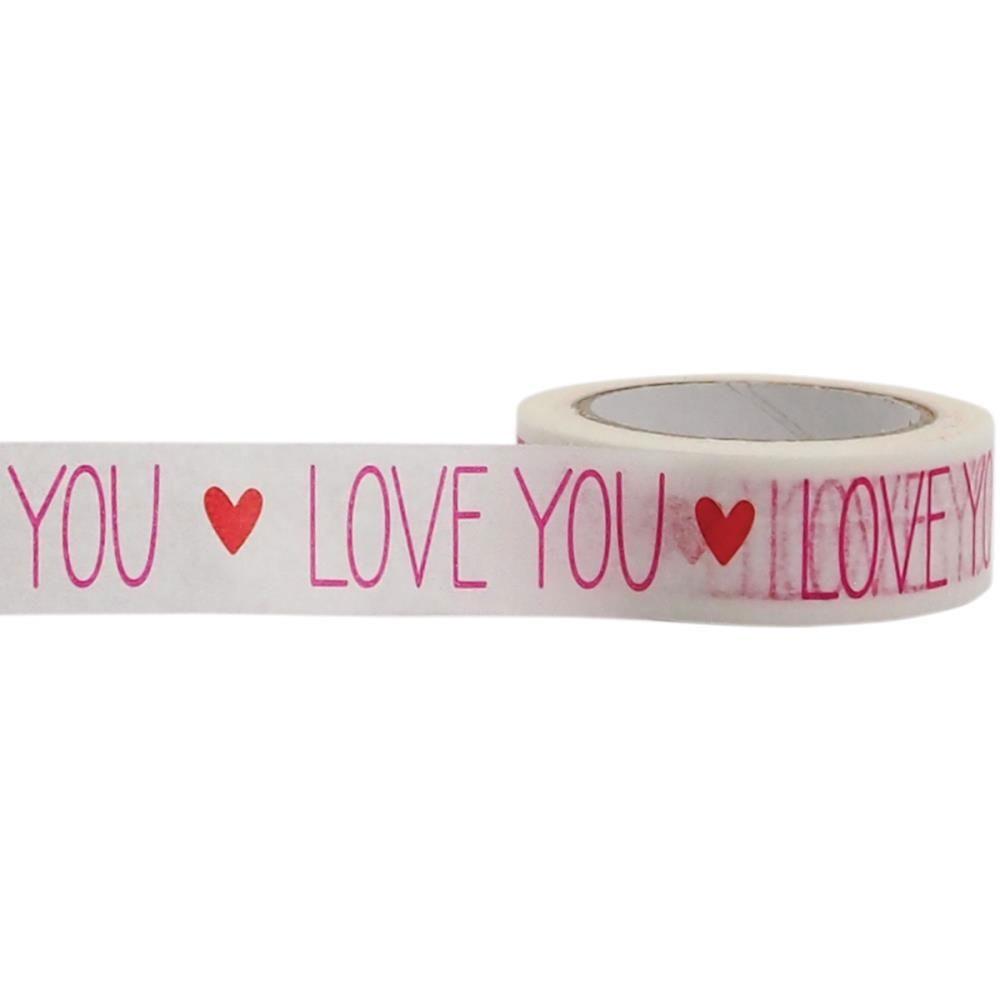 Love You Washi Tape
