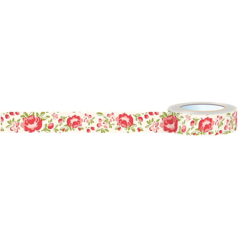 Summertime Rose Garden Washi Tape